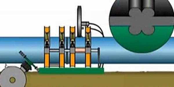 PE给水管热熔对接