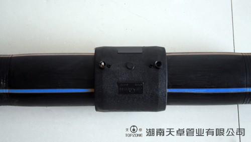PE管电熔焊接操作步骤4