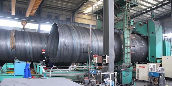 什么是双面埋弧焊螺旋钢管