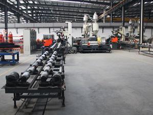 钢带增强螺旋波纹管生产设备