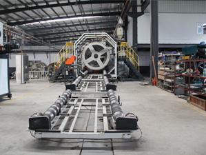 钢带增强螺旋波纹管生产设备2