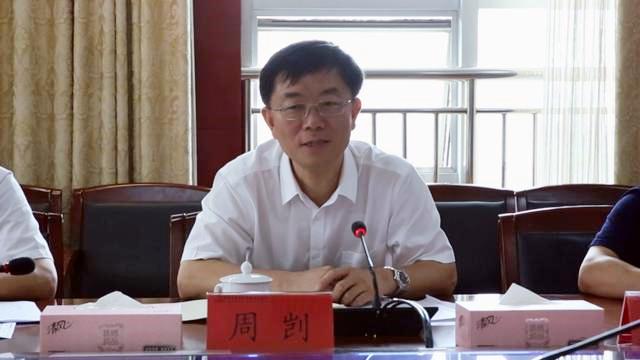 望城经开区书记周凯研讨天卓管业技改项目