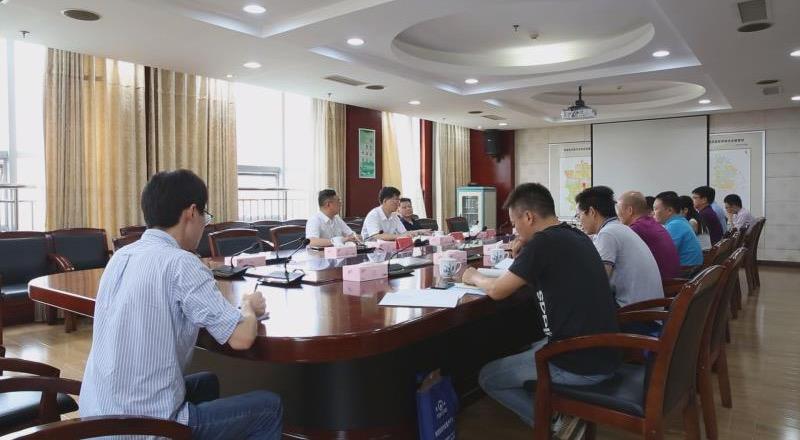 望城经开区研讨天卓管业技改项目