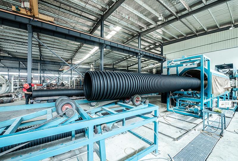 双壁波纹管生产设备2