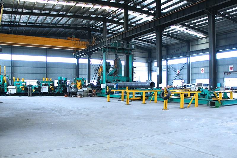 螺旋钢管生产设备2