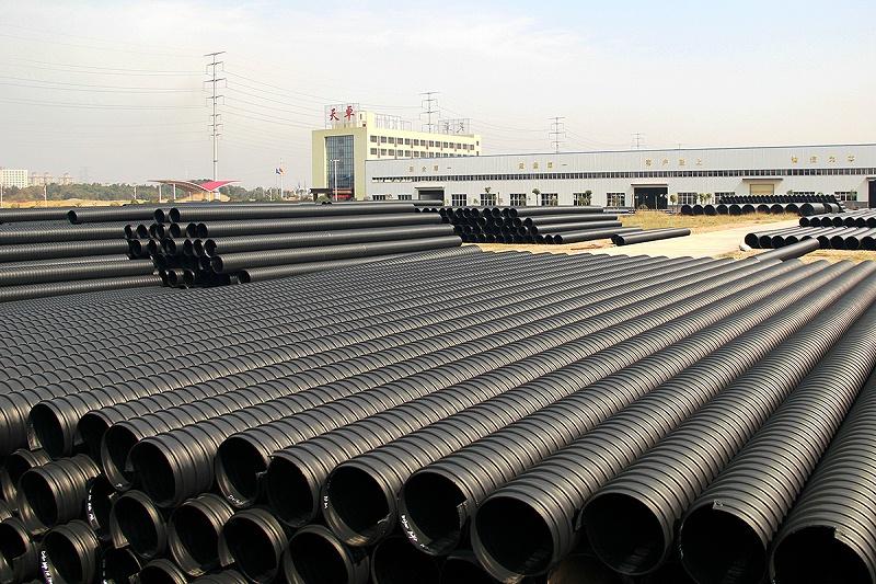 钢带增强螺旋波纹管2